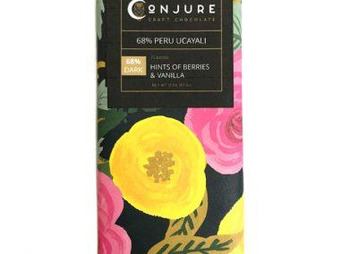 Conjure Craft Chocolate Peru Ucayali River 68% Dark Chocolate