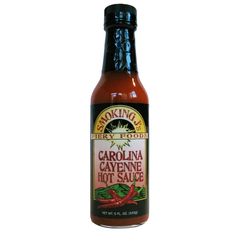 Smoking J's Fiery Foods Carolina Cayenne Hot Sauce