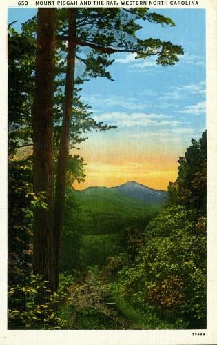 Mount Pisgah Postcard Reproduction