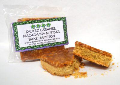 Salted Caramel Macadamia Nut Bar
