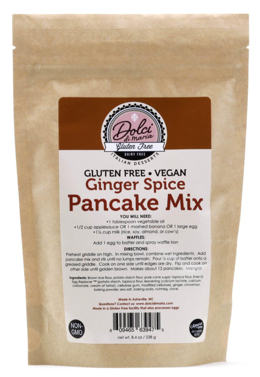Dolci di Maria Ginger Spice Pancake Mix