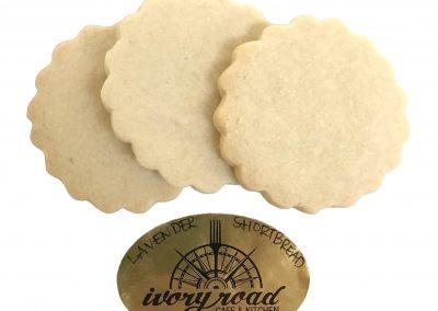 Ivory Road Lavender Shortbread