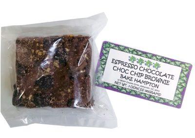 Bake Hampton Espresso Chocolate, Chocolate Chip Brownie