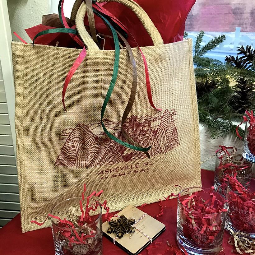 Holiday market bag