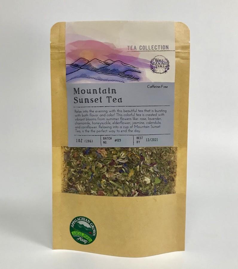Well-Seasoned Table Mountain Sunset Tea