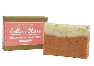 Bella & Oliver Rosemary Grapefruit Soap