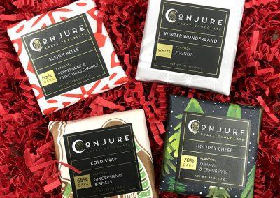 Conjure Craft Chocolate Holiday set
