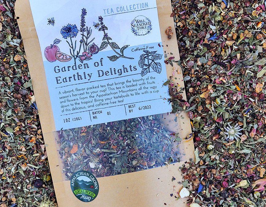 Well Seasoned Table Garden of Earthly Delights Herbal Tea